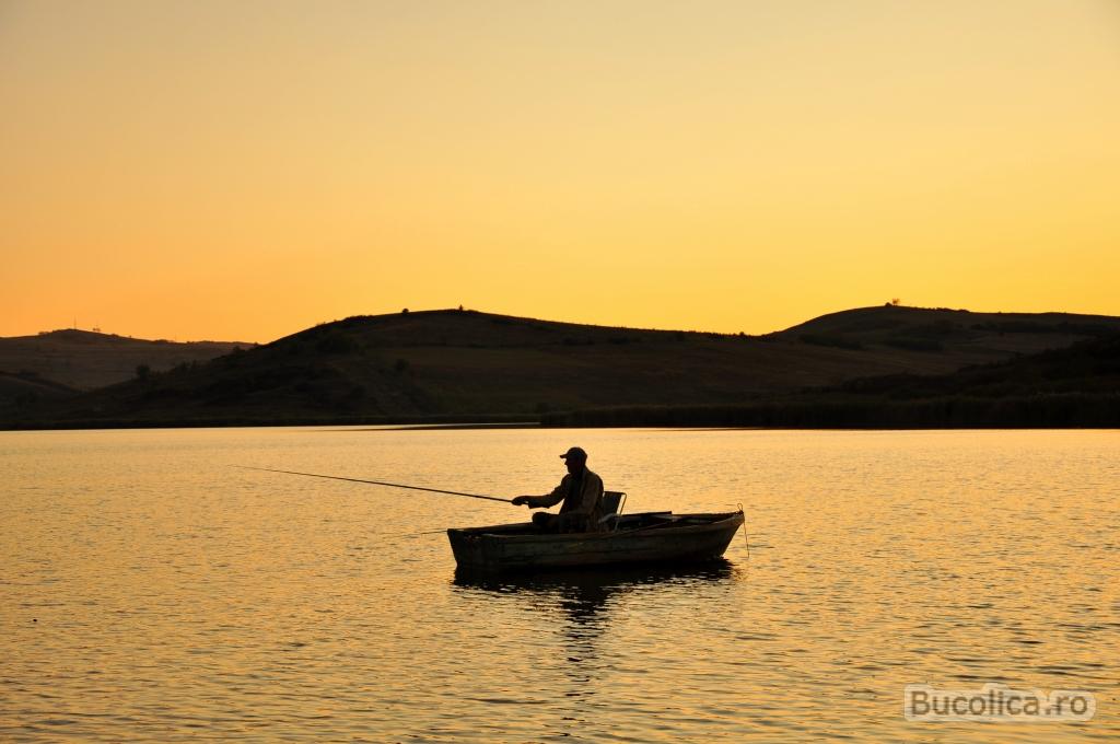 Pescar pe Lacul Știucii