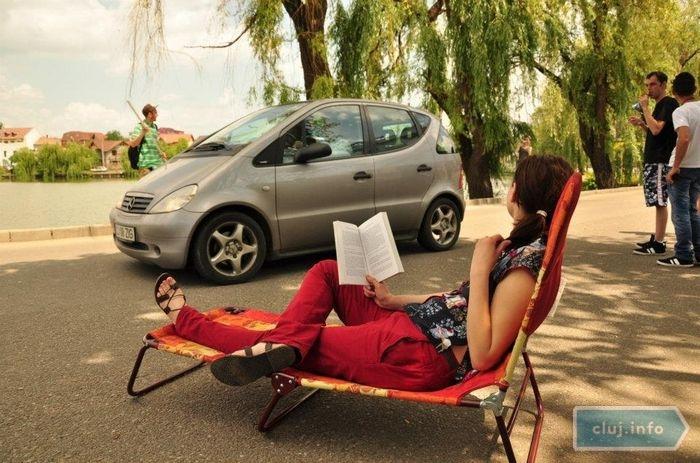 Relaxare vs tranzit auto