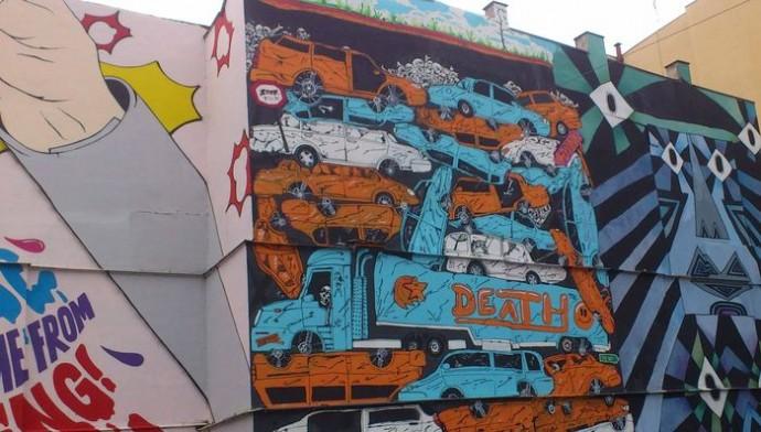 Arta murală Praga