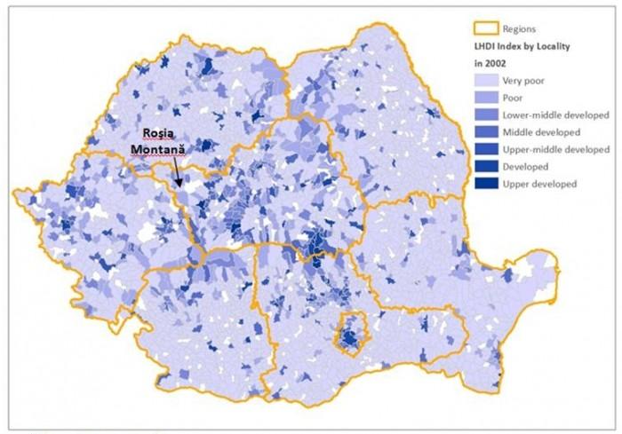 Indicele de Dezvoltare Umană Locală pentru 2002