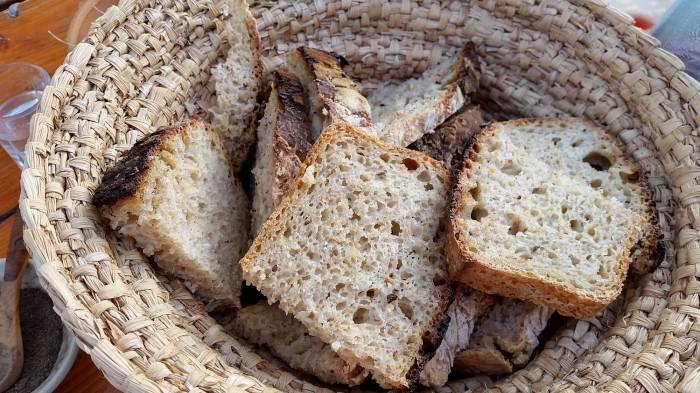Pâine de casă cu maia