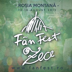 Ediție aniversară: 10 ani de FânFest! La Roșia Montană între 13-16 august 2015!