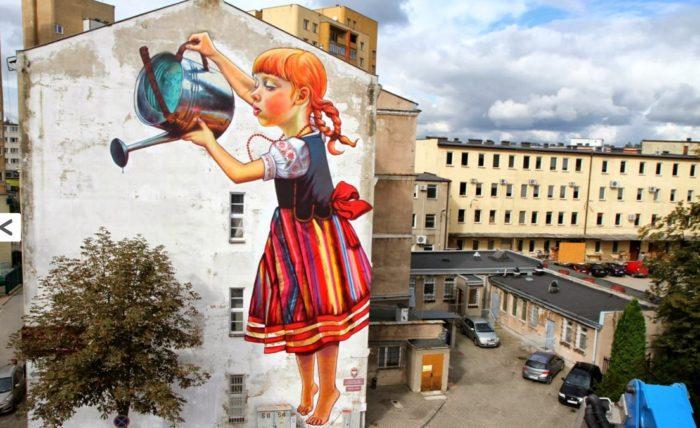 Artă urbană în Bialystok, Polonia
