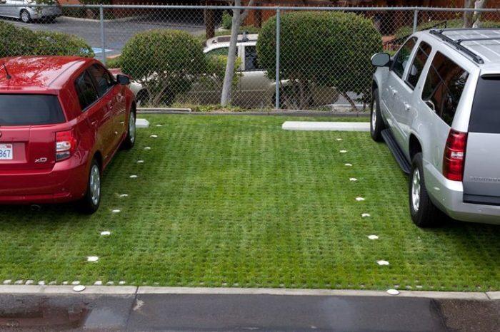 Parcări verzi