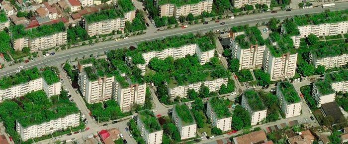 Blocuri comuniste – propunere conversie acoperișuri în gradini urbane