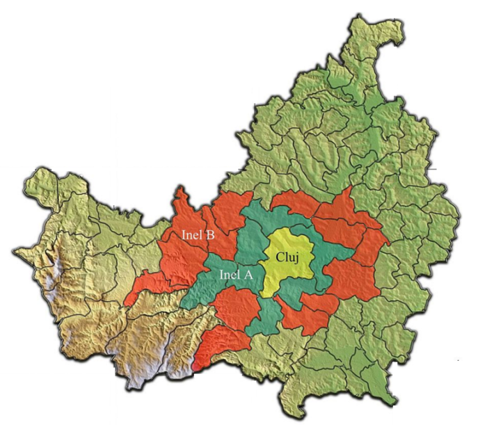 The Cluj Metropolitan Area