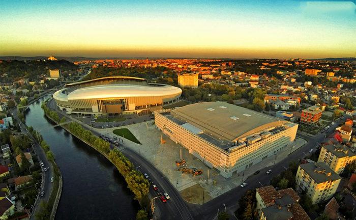 Stadionul si Sala Polivalenta din Cluj