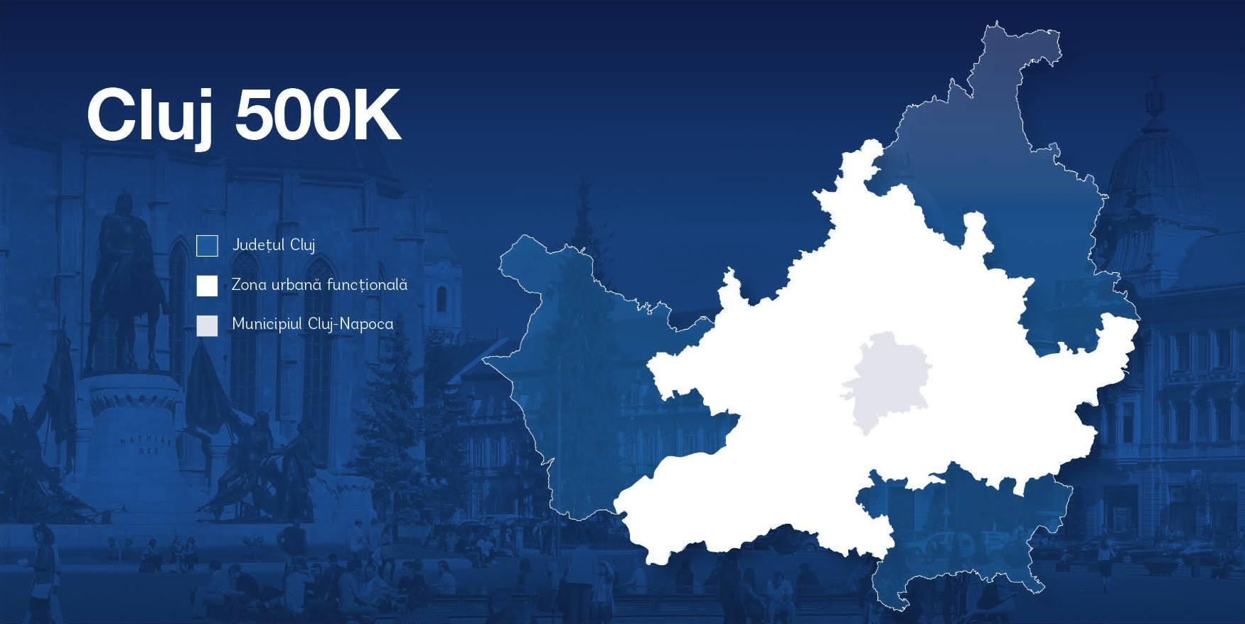 Cluj500K, Clujul cu 500.000 de locuitori în 2030, o țintă atât dezirabilă, cât și posibilă.