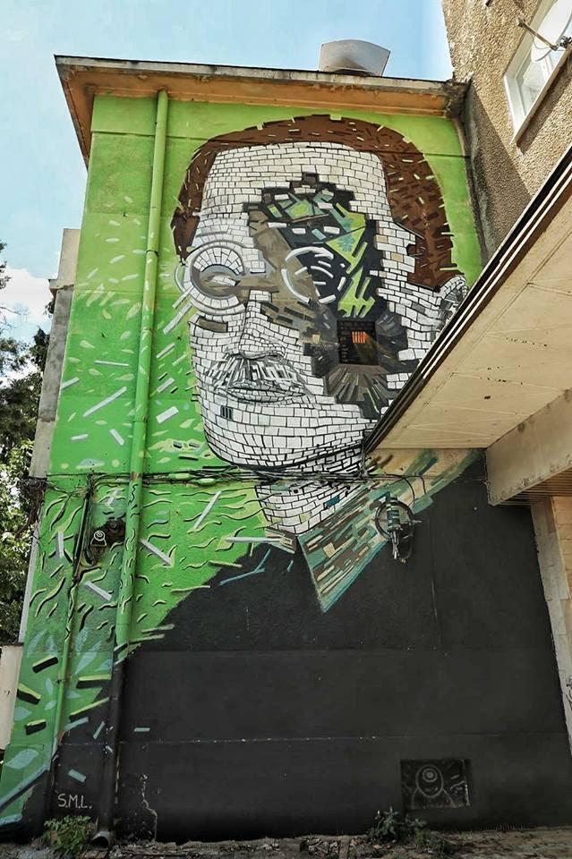 Murală din cadrul proiectului ZidArt, Bacău
