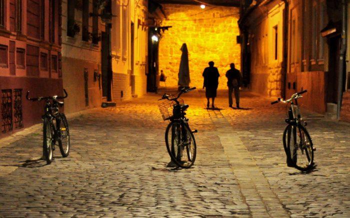 Strada pietonala in Cluj