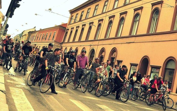 Critical Mass Cluj - ediția 8 iunie 2012