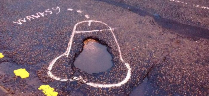 Un mod inedit de a adresa problema gropilor stradale