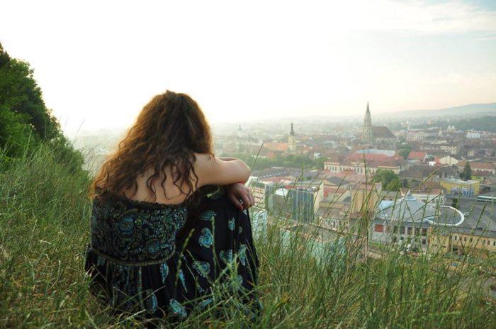 Clujul văzut de pe Cetățuie