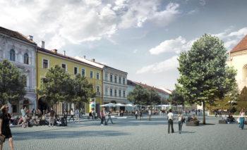Două milioane de euro necesari pentru a avea un plus de 18.000 m2 pietonali / partajați în centrul Clujului. Vezi propunerea.