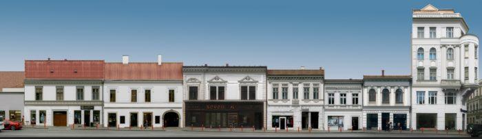 Propunere (4) pentru refațadizarea clădirilor de pe Str. Regele Ferdinand – varianta albă