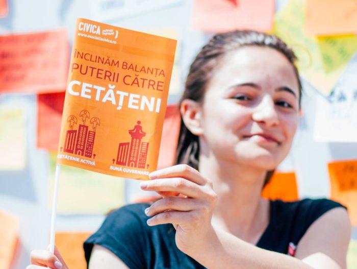Asociația CIVICA din Iași militeaza pentru cetăţeni implicaţi şi un oraş mai bine guvernat.