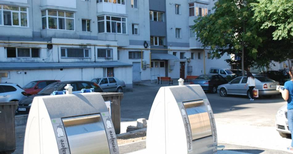 Sistem de pubele subterane pentru deșeurile menajere în Slatina.