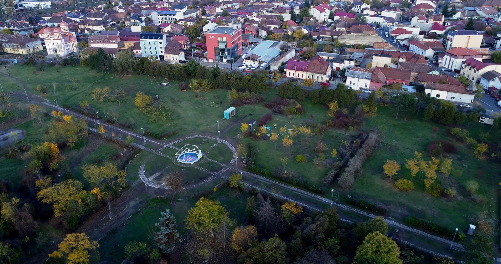 Parcul Feroviarilor în prezent. Foto: OAR