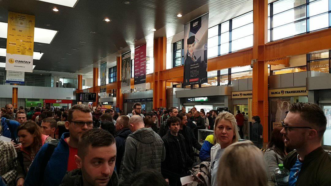 Aeroportul Cluj în 2018:creștere spectaculoasă, infrastructură depășită.