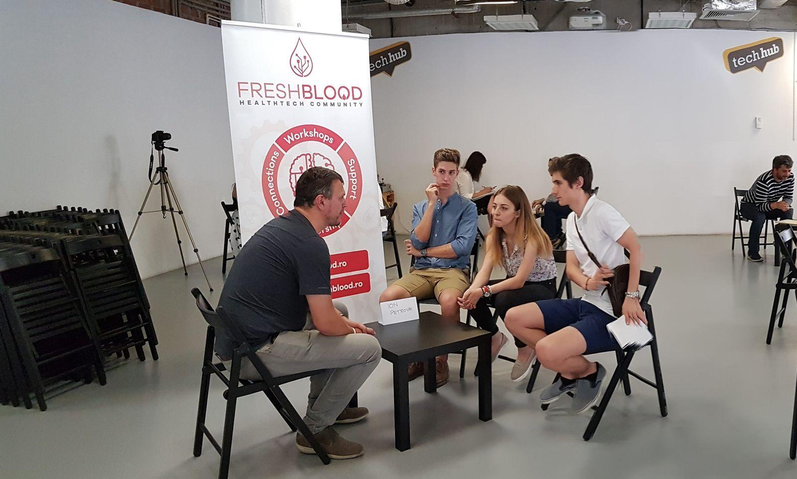 FreshBlood facilitează inovarea, oferind sprijin startup-urilor din domeniul asistenței medicale